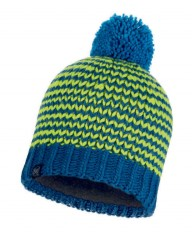 Шапка Buff KNITTED & POLAR HAT DORN MOROCCAN BLUE (US:one size)