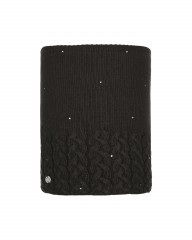 Шарф Buff KNITTED & POLAR NECKWARMER ELIE BLACK (US:one size)